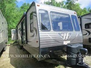 2016 KEYSTONE HIDEOUT, 38FDDS **FRONT DEN** PARK MODEL FOR SALE