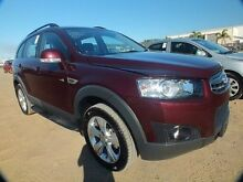 2013 Holden Captiva CG MY12 7 CX (4x4) Maroon 6 Speed Automatic Wagon Bohle Townsville City Preview