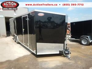 2019 HAULIN 24' ENCLOSED TRAILER WITH HAULER PACKAGE!