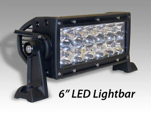 "6.5"" 36W Dual Row Spot LED LIGHT BAR HOT SALE"
