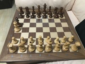 Chessboard plus Pieces with Carry case and clock