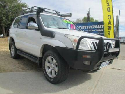 2005 TOYOTA PRADO GXL 7 SEATER-TURBO DIESEL-ONLY 221060KS- Wangara Wanneroo Area Preview
