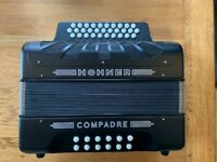 Hohner Compadre 3 Row Accordion B/C/Csharp