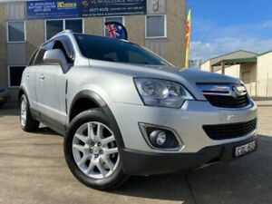 2013 Holden Captiva CG MY13 5 LT (FWD) Silver 6 Speed Automatic Wagon South Windsor Hawkesbury Area Preview