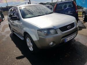 2004 Ford Territory SX TX (RWD) Silver 4 Speed Auto Seq Sportshift Wagon Campbelltown Campbelltown Area Preview