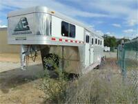 New 2014 ELITE 4 Horse Gooseneck Trailer – MUSTANG model.