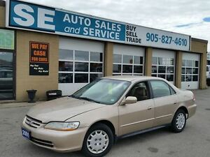 2001 Honda Accord LX Sedan $2695.00 Certified