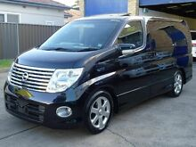 2006 Nissan Elgrand E51 Ser.2 Highway Star Black 5 Speed Tiptronic Wagon Caringbah Sutherland Area Preview