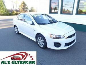 2016 Mitsubishi Lancer ES only $132 bi-weekly all in!(HUGE WRTY)