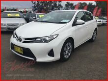 2012 Toyota Corolla ZRE182R Ascent White 7 Speed CVT Auto Sequential Hatchback Lansvale Liverpool Area Preview