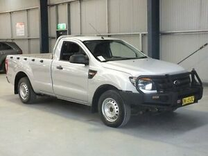 2011 Ford Ranger PX XL 2.2 (4x2) Silver 6 Speed Manual Utility Dubbo Dubbo Area Preview
