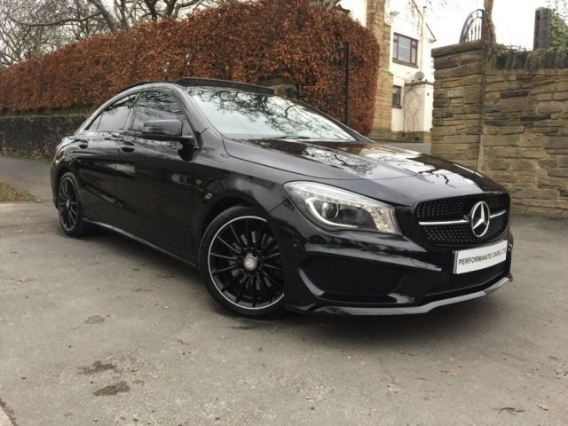 mercedes benz cla 2 1 cla220 cdi amg sport 4d auto 170 bhp. Black Bedroom Furniture Sets. Home Design Ideas
