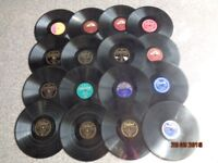JOB LOT 31 OLD 78rpm RECORDS. ALL SORTS. REDUCED