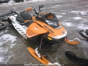 parting out 2017 ski doo mxzx 850
