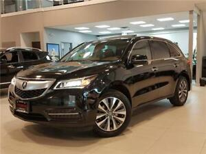 2014 Acura MDX NAVIGATION PACKAGE-LOADED-ONLY 73KM