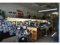 MUSIC STORE ON S RAILWAY - OWN A PIECE OF MED HAT HISTORY!