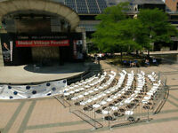 Non-Profits rate on rental - Tents, tables, chairs&more. NO HST