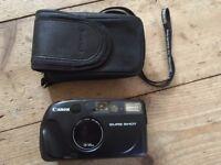 Canon Sure Shot 28/48mm 35mm compact film camera