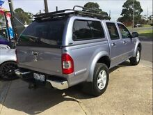 2005 Holden Rodeo RA MY05.5 Upgrade LT Silver 5 Speed Manual Brooklyn Brimbank Area Preview