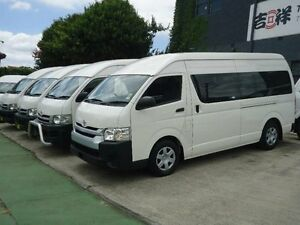 2014 Toyota Hiace TRH223R MY14 Commuter White 4 Speed Automatic Bus Canada Bay Canada Bay Area Preview