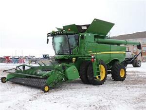 2013 John Deere S680 Combine - 673 hrs, 24 month interest FREE