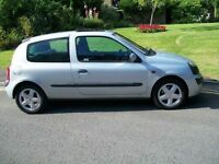 02 Clio 1.2 Dynamic Lady owned