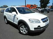 2010 Holden Captiva CG MY10 SX (FWD) White 5 Speed Automatic Wagon Maidstone Maribyrnong Area Preview