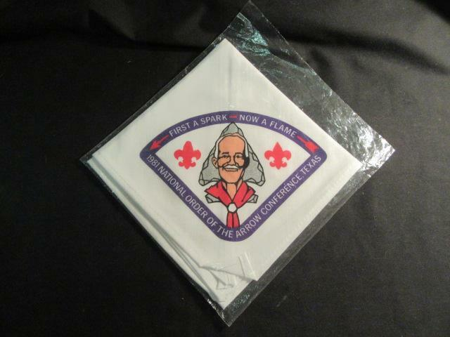 1981 NOAC Neckerchief