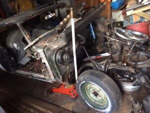 1968 Olds Cutlass convertible for re-build