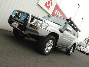 2006 Nissan Patrol GU IV MY05 ST-S Silver 5 Speed Manual Wagon Svensson Heights Bundaberg City Preview