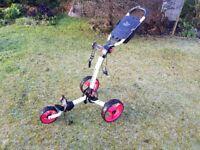 Tri-Lite 3 wheel golf trolley