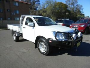 2015 Isuzu D-MAX TF MY15 SX (4x4) White 5 Speed Automatic Cab Chassis Bankstown Bankstown Area Preview