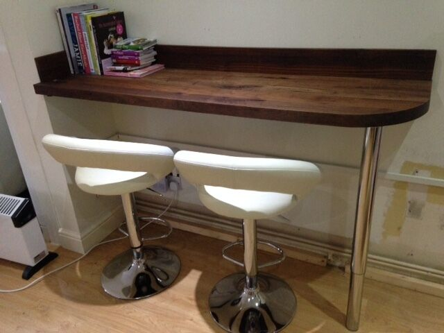 Solid wood curved breakfast bar with matching upstands  : 86 from www.gumtree.com size 640 x 480 jpeg 38kB