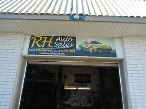 RH AUTO SALES USED TIRES