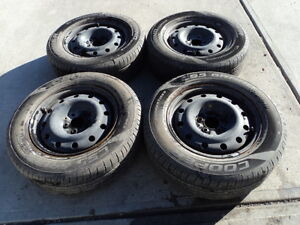 4 Cooper Tires with Rims 225/60/16