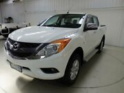 2011 Mazda BT-50 GT (4x4) White 6 Speed Automatic Dual Cab Utility Cooee Burnie Area Preview