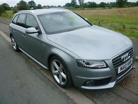 2010 Audi A4 Avant 2.0TDI ( 143PS ) S Line estate 45060 miles grey shrewsbury