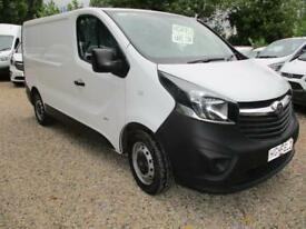 2015 Vauxhall Vivaro 1.6CDTi NO VAT 115PS 2900 L1H1 60000 MILES GUARANTEED