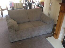 Two x 2 seater sofas.