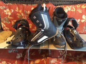 Morrow Snowboard and Bindings and Boots