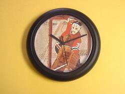 UNIQUE Tony Esposito Blackhawks   9 Wall Clock Super Cool