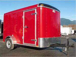 NEW 2015 6X10 CARGO TRAILER  (VICTORY RED)