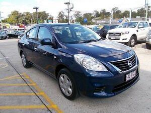 2013 Nissan Almera N17 ST Blue 5 Speed Manual Sedan Buderim Maroochydore Area Preview
