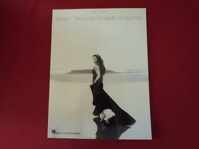 Sarah McLachlan - Closer (Best of) . Songbook Notenbuch Piano Vocal Guitar PVG