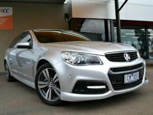 2014 Holden Commodore VF MY14 SV6 Silver 6 Speed Sports Automatic Sedan Fawkner Moreland Area Preview