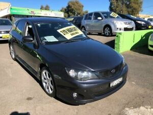 2008 Subaru Impreza G3 MY08 RS Grey Manual Hatchback Lidcombe Auburn Area Preview