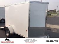 8 X 5 STANDARD STEALTH ALUMINUM UTILITY TRAILER