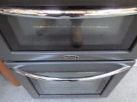 belling/grey/black/gas cooker/great condition/very clean/top working order/free local delivery/