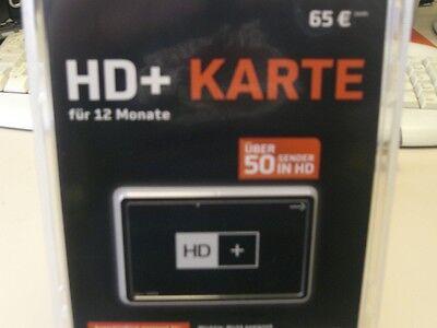 HD Plus + Karte für 12 Monate