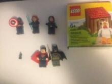 MARVEL AND DC LEGO FIGURES FOR SALE AND CHICKEN MAN Forest Lake Brisbane South West Preview